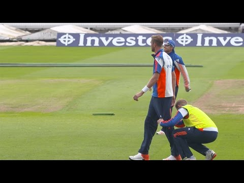 Watch out, Joe Root's about! Stuart Broad falls foul of prank!