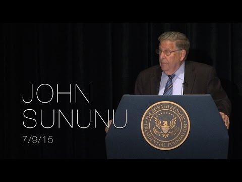 A Reagan Forum with John Sununu — 7/9/15