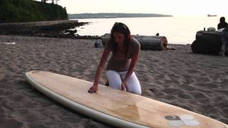 How to Carry A SUP   Lesson