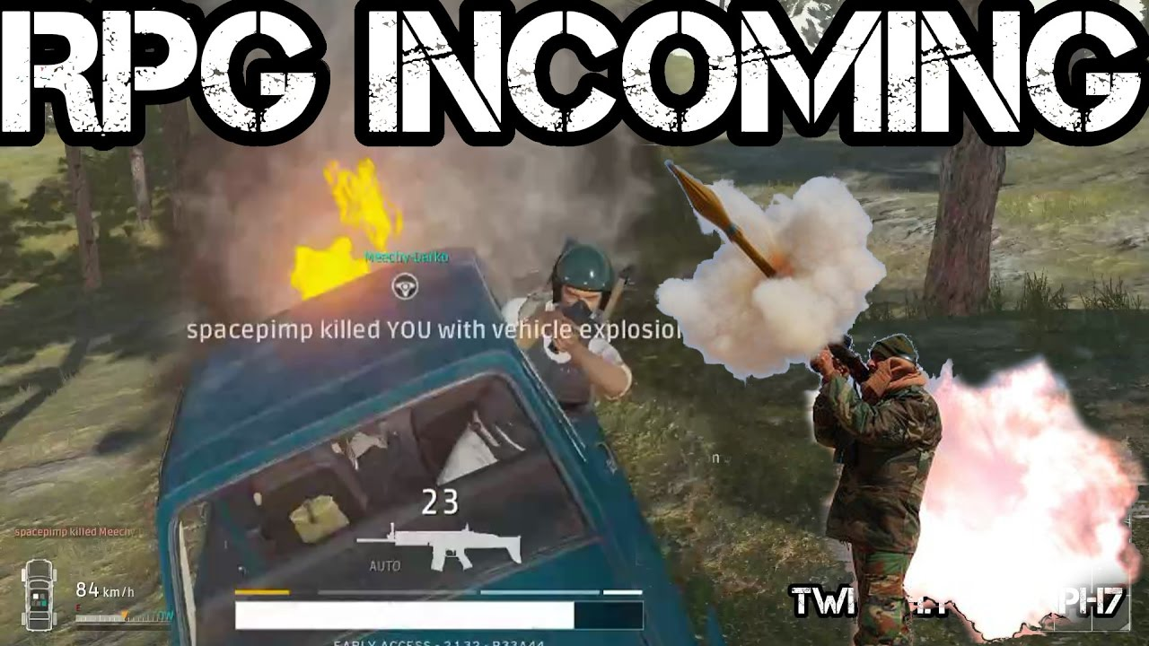 Rpg Incoming Playerunknown S Battlegrounds Youtube