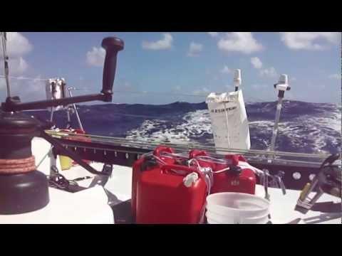 BoDream/ Solo Atlantic Crossing (Near Antigua/ Dec 2012)