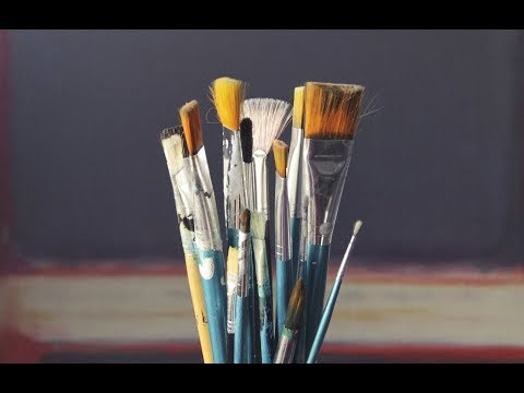 How to Clean Oil Paint Brushes (Classic And New Method)