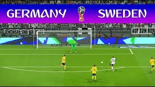 Germany vs Sweden - FIFA World Cup - PES 2018