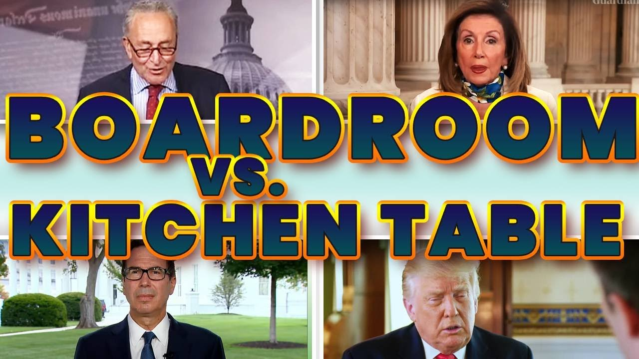 ALERT | SPEAKER PELOSI: THIS IS ABOUT BOARDROOM TABLE VERSUS KITCHEN TABLE | WHAT YOU MUST KNOW