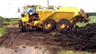 Volvo A25C 6x6 Articulated Dump Truck Fail