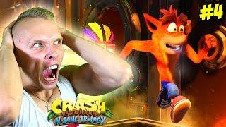 AAAAAA!!! NOSZ KUR***!!! - Crash Bandicoot #4