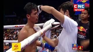 Khmer Fighter: Seng Sroeun Vs Muaythai, Watcharadeth , CNC TV Boxing, 26/May/2018