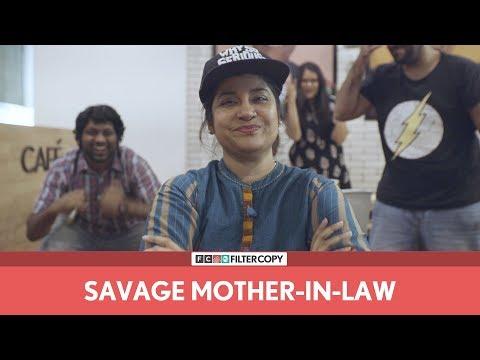 FilterCopy | Savage Mother-In-Law | Ft. Renuka Shahane, Veer Rajwant Singh and Eisha Chopra