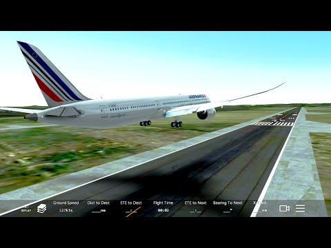 Infinite Flight NEW Boeing 787-10.ATC.Multiplayer.EGBB-EGKK