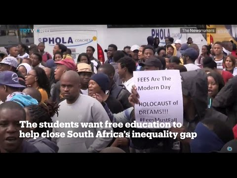 Picture This: South Africa student protests