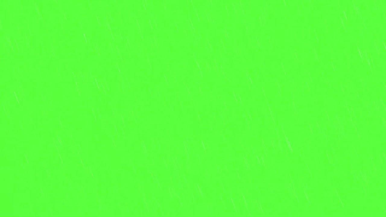 green screen rain effect  light