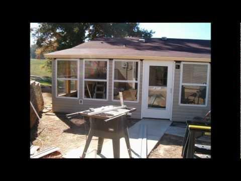 back porch enclosure
