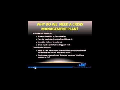 Essentials of Crisis Management