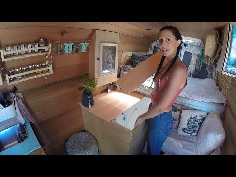 Full tour - Tiny home / stealth solar camper van conversion - Renault Master