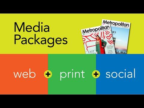 How Barcelona Metropolitan Magazine Sells Media Packages