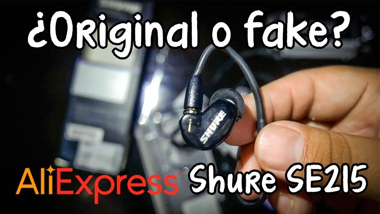 Shure SE215 fake? ¿como diferenciar  originales de fakes chinos? / [Aliexpress para Músicos #13]