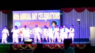 Hariharan Vangari Performance At Annual Day At Sri Satya Sai Vidya Vihar Hyderabad