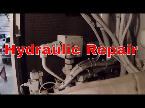 To The Top Crane | Hydraulic repair on the crane
