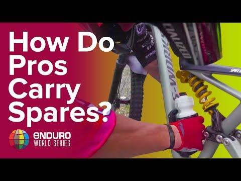 How Do EWS Pros Carry Spares?
