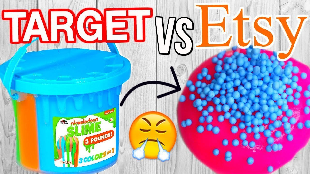 TARGET SLIME VS ETSY SLIME! Which is Worth it?!?