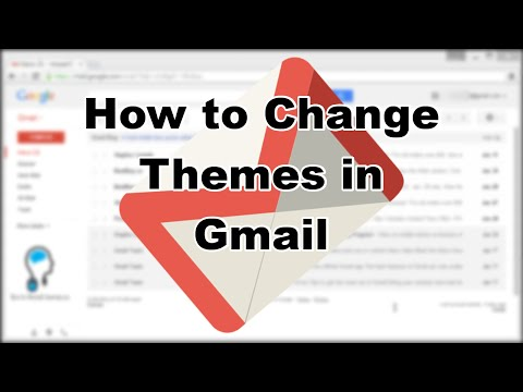 Tutorial: How to change Gmail Themes (2015) - YouTube