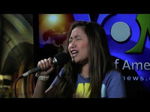 Charice performs 'In This Song' on VOA's Border Crossings