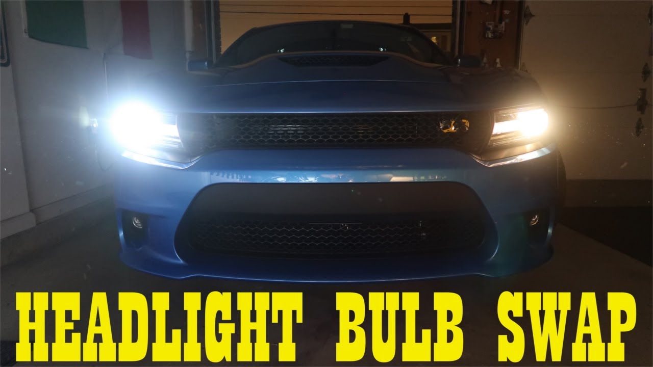 maxresdefault 2016 charger scat pack headlight bulb swap youtube 2015 Charger at creativeand.co