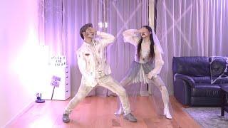 BTS - 'Blood Sweat & Tears' Dance Cover (Halloween ver.) | Ellen and Brian