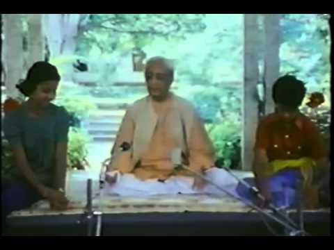 Krishnamurti - Be a Light to Yourself - pt. 1