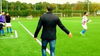 Turkse agressie van een voetbalwedstrijd in Nederland