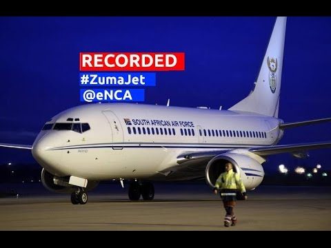 WATCH: Defence Department responds to #ZumaJet