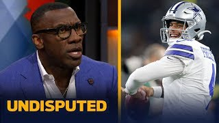 Shannon Sharpe grades Dak Prescott's performance an 'F' vs. the Bills | NFL | UNDISPUTED