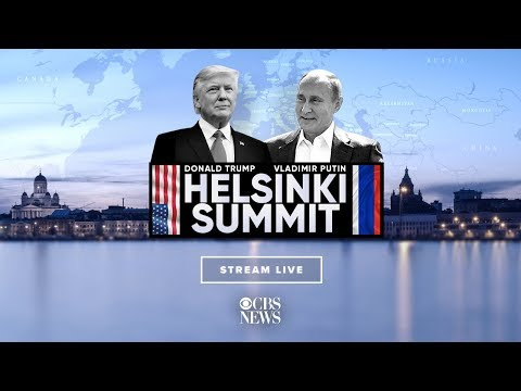 Trump and Putin hold joint press conference after Helsinki Summit