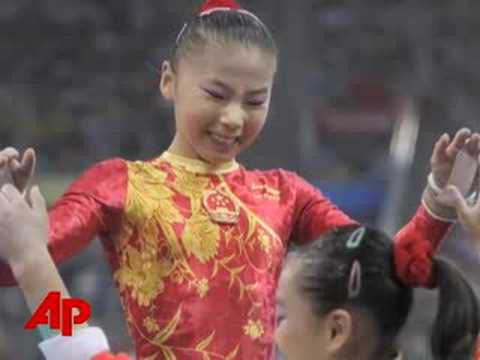 Olympics '08: Controversy Over Age of Gymnasts