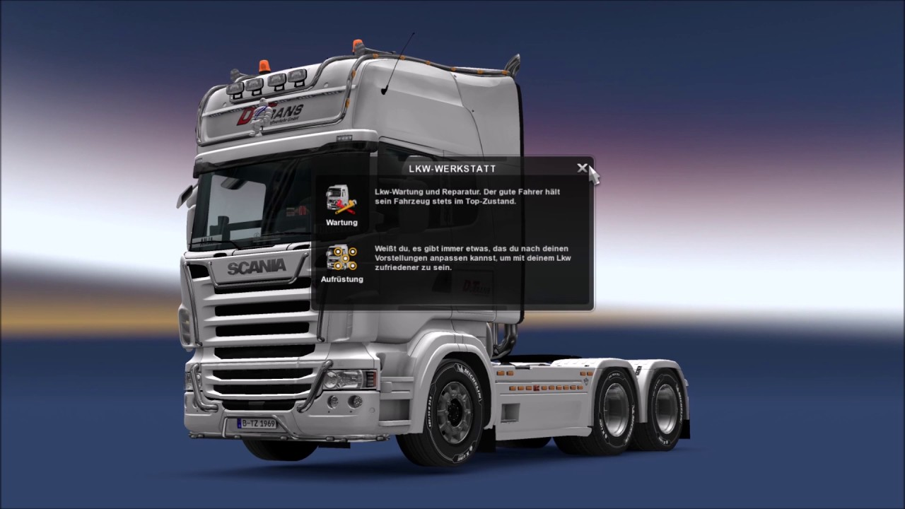 Euro Truck Simulator 2 (1.27.1.2s) DU-Trans GTD - YouTube