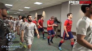 PES 2019 | UEFA Champions League | CSKA Moscu vs Real Madrid | Gameplay PS4