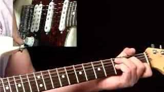Rhythm Guitar Lessons - Funk Pattern #1 - Rhythmology