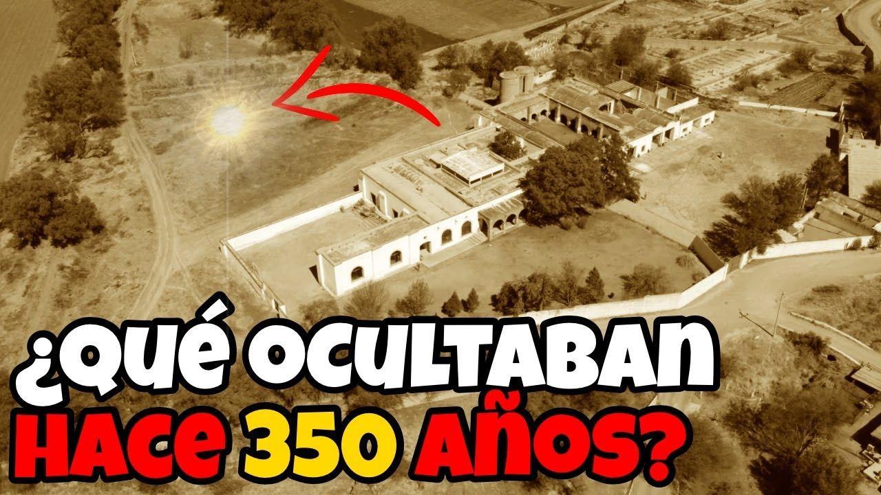 Mira que Encontramos en Hacienda con 350 años de Historia!!!