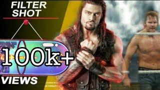Roman riegns ft.Gulzaar Chhaniwala FILTER SHOT (Official)   Late #Romanriegns #Deanambrose #WWE
