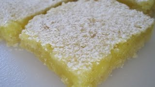 Lemon Bars Recipe - How To Make Lemon Bars