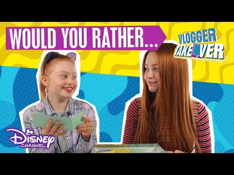 Ruby Rose UK  Would You Rather? 🤔  Disney Channel UK