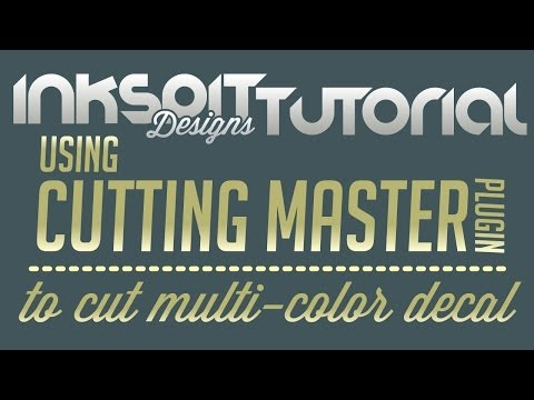 Adobe Illustrator - using the Cutting Master plugin to cut