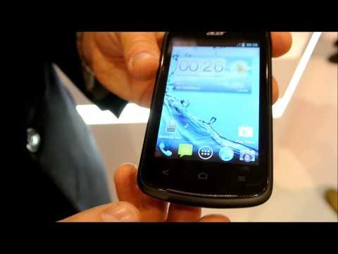 Acer Liquid Z2 - video demo @ MWC 2013
