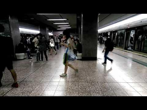 Rush hour @ Prince Edward MTR Station Hong Kong