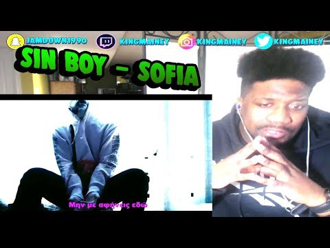 (GREEK)Sin boy - Sofia (Official Music Video) REACTION!!