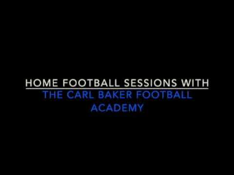 Carl Baker Academy | 1-2-1 Home Football training session