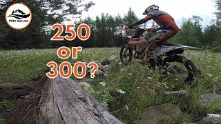 250 VS 300 Why I Ride The 250XC TPI - Episode 70