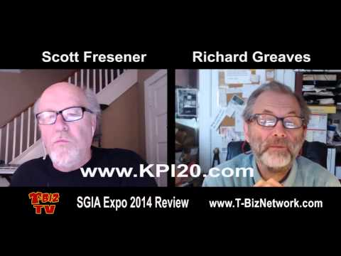 SGIA 2014 Show Review with Scott Fresener and Richard Greaves