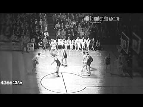 George Mikan Blocks a Perimeter Shot and dishes a Blind Pass in the post: 1950