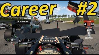 F1 2014 Modded Career Mode Part 2: Malaysia